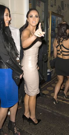 Vicky Pattison, Casey Batchelor – The Bullroom in Canterbury before moving on to The ON1 club 31.01.15