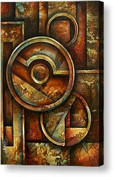 ' Omega Block' Canvas Print by Michael Lang