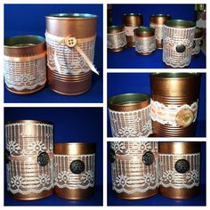 Lace cans