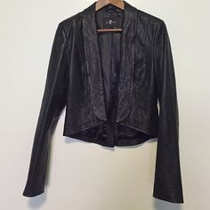 7 for all Mankind Jackets & Blazers - 7ForAllManKind ...this is a BEAUTY .... it has an almost peplum back w/vent... it is very nice.... you need this 1 in your life ......!!! pERRY