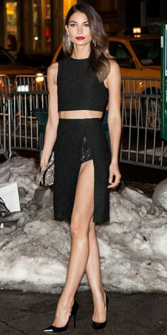 Look of the Month – Lily Aldrige is so Amazing in Thakoon!