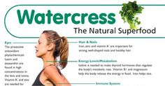 Watercress can boast more vitamin C than oranges, more vitamin E than broccoli, more calcium than whole milk and more iron than spinach!