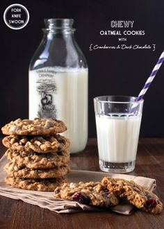 COCONUT PALM SUGAR (substitute) RECIPE FIND: Chewy Oatmeal Cookies with Cranberries and Dark Chocolate