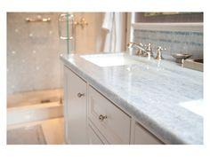 Complete Tile Collection Park Avenue Residence, Master Bath - Vanity Area Detail Architect: Amie Weitzman & Michael Halpern Company: Weitzman Halpern Design Inc.