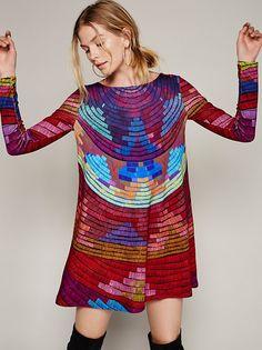 Mara Hoffman Radial Swing Mini Dress at Free People Clothing Boutique