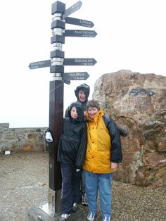 Cape of Good Hope:  Wet day at the Cape