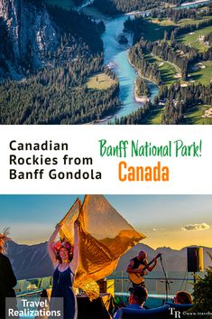 If you are planning a trip to Banff National Park in Canada, then enjoy some beautiful views while riding up the Banff Gondola. The resplendent Rockies at the time of the sunset looked especially beautiful. Read more about my experience on my blog. #BanffGondola #BanffNationalPark #ParksCanada #ExploreCanada Banff National Park, National Parks, Travel Around The World, Around The Worlds, Travel Tips, Travel Destinations, Parks Canada, Canadian Rockies, Freaking Awesome