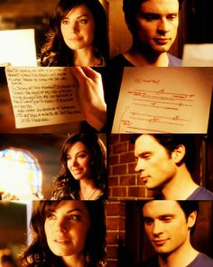 Clark & Lois - Their Wedding Vows Lois And Clark Smallville, Lois E Clark, Clark Kent Lois Lane, Smallville Quotes, Dc Movies, Good Movies, Erica Durance, Superman And Lois Lane, Tom Welling