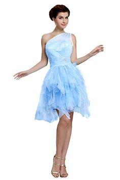 Bess Bridal Women One Shoulder Tulle Short Homecoming Prom Dress Size 2 US Sky Blue Bess Bridal http://www.amazon.com/dp/B014XK3PZY/ref=cm_sw_r_pi_dp_tqhowb02B5VG6