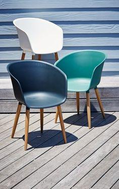 Fauteuil VARMING kunstst/FSC hardh groen Garden Furniture, Outdoor Furniture, Rooftop Terrace, Green Garden, Outdoor Areas, Garden Planning, Garden Inspiration, Patio, Chair