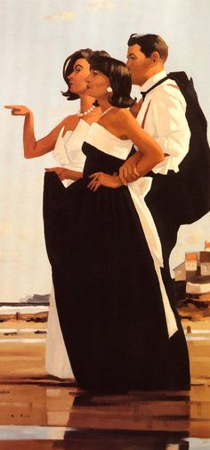 Jack Vettriano (Scottish, b1951 born as Jack Hoggan)