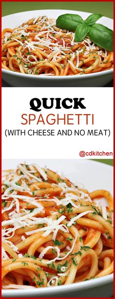 What do you get when you mix tomatoes, fresh basil, and olive oil? The start to a great pasta dish! A little garlic, red pepper and cheese get you the rest of the way there. | CDKitchen.com