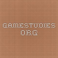 gamestudies.org
