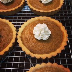 Japanese pumpkin pie with a dollop of whipped caramel cream...yum!