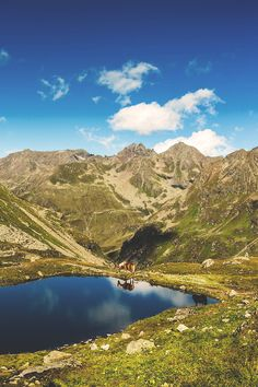 Verwall  Alps - between Tyrol and Vorarlberg, Austria