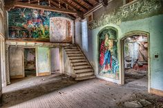 Abandoned Stewart Mansion  by Ellen Yeates - Buildings & Architecture Homes ( stewart mansion, home, old, building, ellen yeates, mansion, texas, architecture, ellen, inside, yeates, galveston, abandon, abandoned )