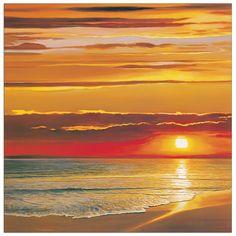 Werner - Sunset on the sea 70x70 cm #artprints #interior #design #art #prints #panorami #Landscapes Scopri Descrizione e Prezzo http://www.artopweb.com/categorie/panorami-e-citta/EC22046