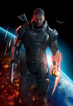 Mass Effect 3 is a third person shooter and RPG developed by BioWare Edmonton and published by Electronic Arts. Announced on December it was released in North America for PC, Xbox 360 and PlayStation 3 on March It concludes the Mass E Mass Effect Tattoo, Mass Effect Art, Video Games Xbox, Xbox 360 Games, N7 Armor, Xbox One, Mass Effect Universe, Commander Shepard, Cosplay