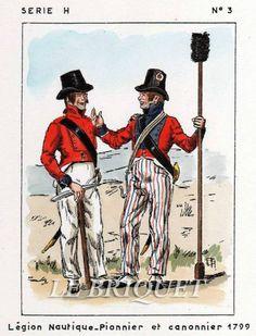 Pioniere e cannoniere della legione nautica