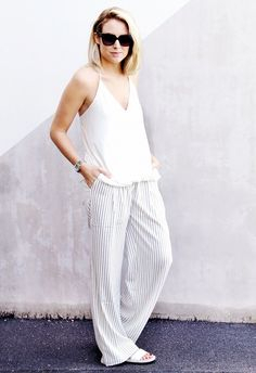 12 Cute Summer Outfits You'll Want To Copy via @WhoWhatWear