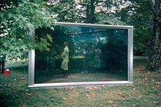 Two way mirror (Double exposure) Dan Graham
