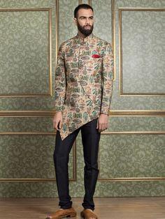 Mens Sherwani and Indowestern Mens Indian Wear, Mens Ethnic Wear, Indian Groom Wear, Indian Wedding Wear, Indian Men Fashion, Wedding Attire, Kurta Pajama Men, Boys Kurta, Gents Fashion