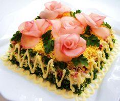 Украшение блюд и салатов.. Обсуждение на LiveInternet - Российский Сервис Онлайн-Дневников