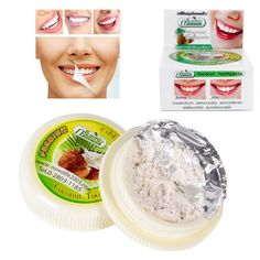Dental Products Dentifrice toothpaste whitening teeth remove smoke tea yellow stains plaque to halitosis 10gLisa's Store