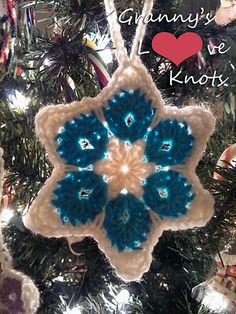 Ravelry: 6 Point Star pattern by Pam Stinnett