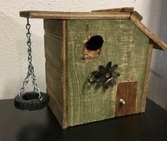 Tire Swing Bird House