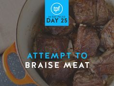 30 Day Paleo: Day Twenty Five – Attempt To Braise Meat