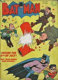 Propaganda in American Comics, Batman