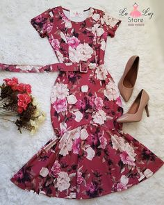 Laluz Store 👗 Modest Fashion, Skirt Fashion, Fashion Outfits, African Prom Dresses, African Dress, Cute Dresses, Beautiful Dresses, Casual Dresses, Girly Outfits