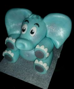 Chocolate Cake Toppers, Edible Cake Toppers, Smurfs, Fondant, Fondant Icing, Candy