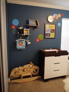 Kid room ideas - love those shelves