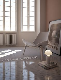 3d Interior Design, Interior Rendering, Interior Design Living Room, Exterior Design, Interior And Exterior, Autocad, 3ds Max Tutorials, Vray Tutorials, Stainless Steel Texture
