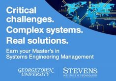 Engineering information and connections for the global community of engineers. Find engineering games, videos, jobs, disciplines, calculators and articles… Engineering Management, Systems Engineering, Georgetown University, Complex Systems, Higher Education, Challenges, How To Apply, Training, Contemporary