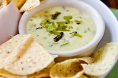 Hatch Chile Con Queso by foodiebride, via Flickr. Great tasting recipe for the Superbowl!  I buy Hatch chiles in August then roast and freeze them.  You can use canned chiles or try roasting an Anaheim chile.  I kept this warm in a small crockpot while serving.