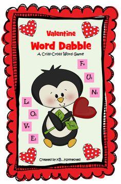 Cute Valentine Word Game