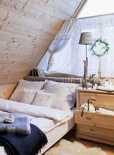 adelaparvu.com despre decor de Craciun, casa din lemn decorata de Craciun, Foto Weranda Country (8)
