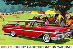 Plan59 :: Woodies :: 1950s Station Wagons :: 1958 Mercury Voyager