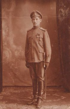 Imperial Russian Army officer, Life Grenadiers, circa World War I.