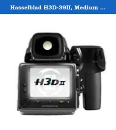"Hasselblad H3D-39II, Medium Format Digital SLR Camera with 39mp Sensor & 3"" LCD Display. The H3D-II is the 4th generation of the Hasselblad H-system, is the ultimate high-end DSLR camera system, providing all the advantages of a truly integrated DSLR to the large sensor format, enabling all photographic parameters to be optimized & resulting in an unsurpassed level of image qualityThe H3D-II provides improved controls & functionality, better sensor cooling, a more intuitive user interface…"