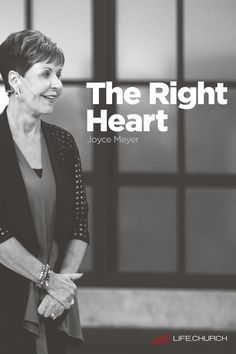 Love God, love people—sounds simple enough. So why is it so hard to live out? Maybe it's because we're going about it all wrong. Join special guest Joyce Meyer to see why love isn't about following the right rules—it's about having The Right Heart.