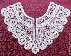 Crochet Collar, Lace Collar, Bobbin Lace, Cutwork, Tatting, Collars, Crochet Necklace, Art, Fashion