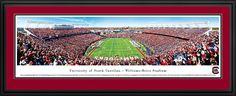 South Carolina Gamecocks Panoramic - William Brice Stadium Picture