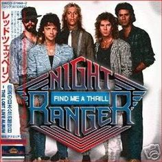Night Ranger: My favorite band of all-time! No surprise that I have two other boards dedicated to them and my personal favorite member: Jack Blades! Steve Gaines, Night Ranger, 80s Hair Bands, Damn Yankees, Hard Rock, Rock Bands, My Music, All About Time, Blues