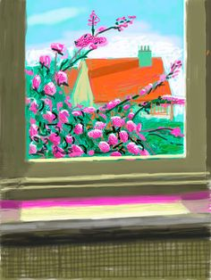 Official Works by David Hockney including exhibitions, resources and contact information. David Hockney Ipad, David Hockney Art, David Hockney Paintings, David Hockney Photography, Art Photography, Image Painting, Painting Collage, Contemporary Artists, Modern Art