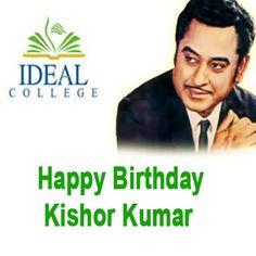 #Ideal #College #Wishes #Happy #Birthday to #Kishor #Kumar