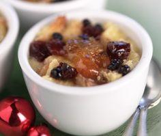 Drunken Bread Puddings Recipe | House & Home